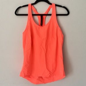 NWOT Neon Orange/Pink Workout Tank Top/ Yoga Tank